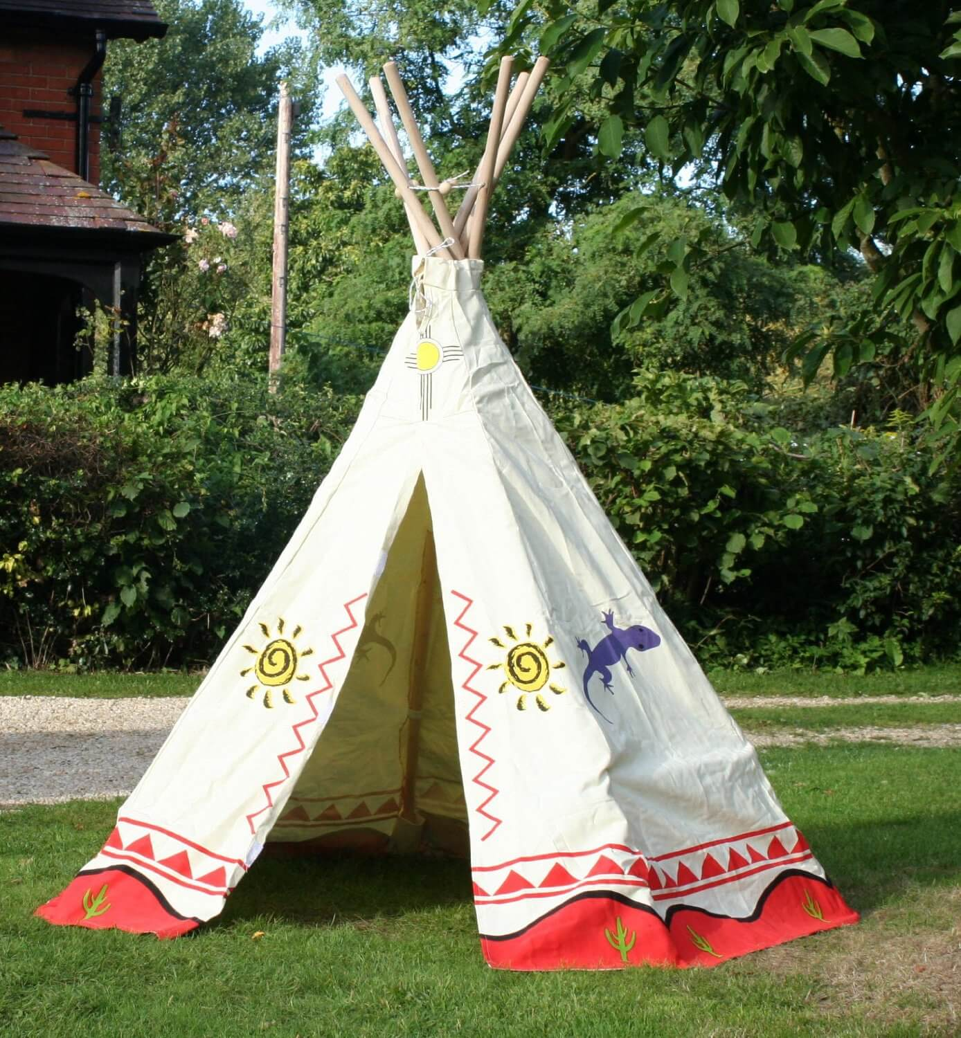 garden games indianerzelt kinderzimmer tipi zelt. Black Bedroom Furniture Sets. Home Design Ideas