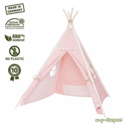 Unsere kleinen Lieblinge lieben es in Ihrem Tipi Zelt Kinderzimmer zu spielen. Doch welches Zelt ist das beste? Wir haben ein paar schöne Empfehlungen.