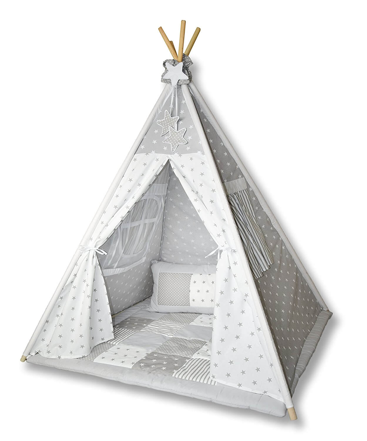 amilian tipi spielzelt f r kinder t01 tipi zelt kinderzimmer. Black Bedroom Furniture Sets. Home Design Ideas